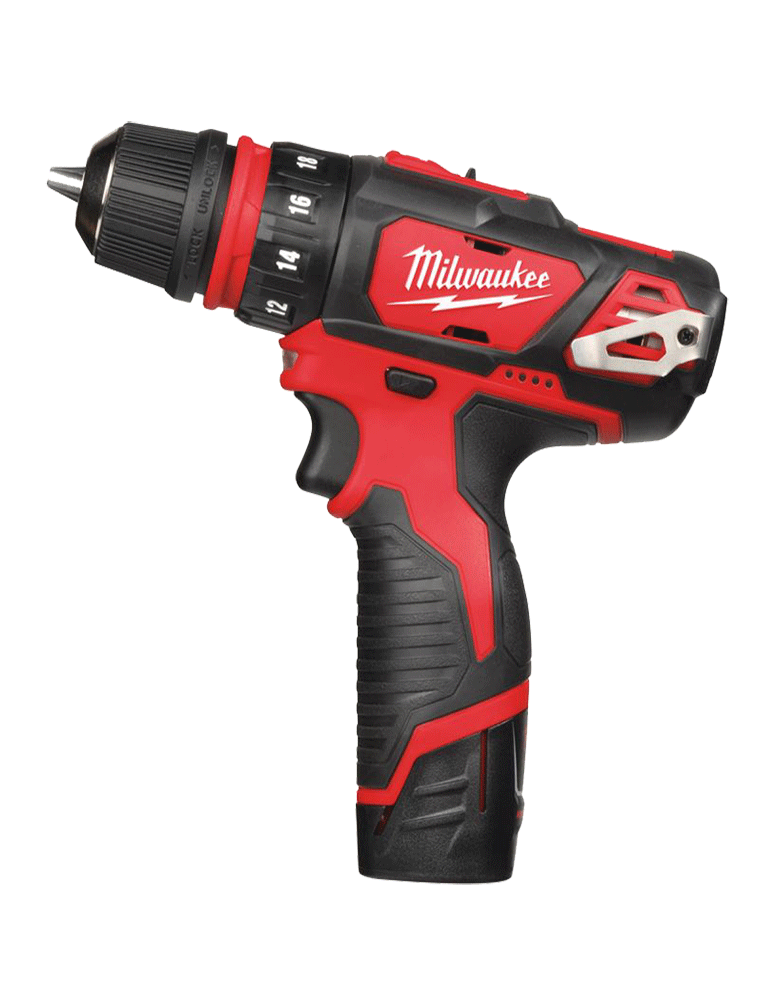 PERCEUSE VISSEUSE 4 EN 1 12V MILWAUKEE EN COFFRET