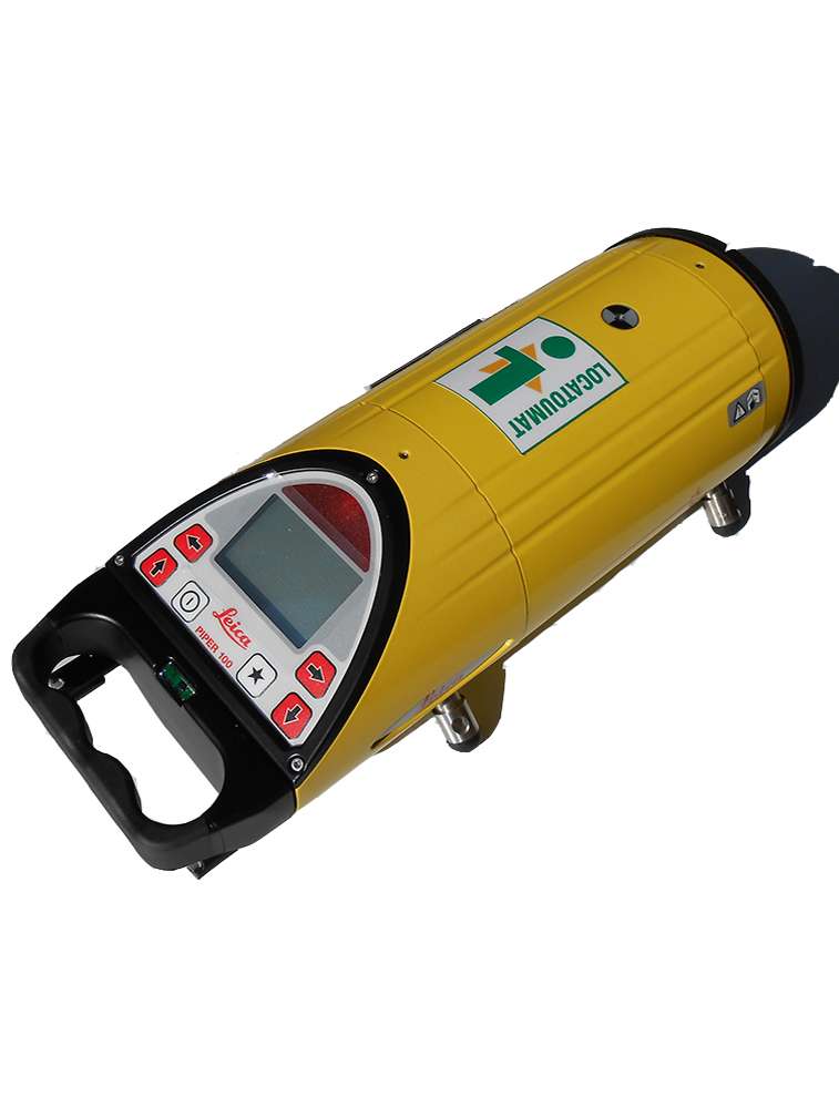 Piping laser level