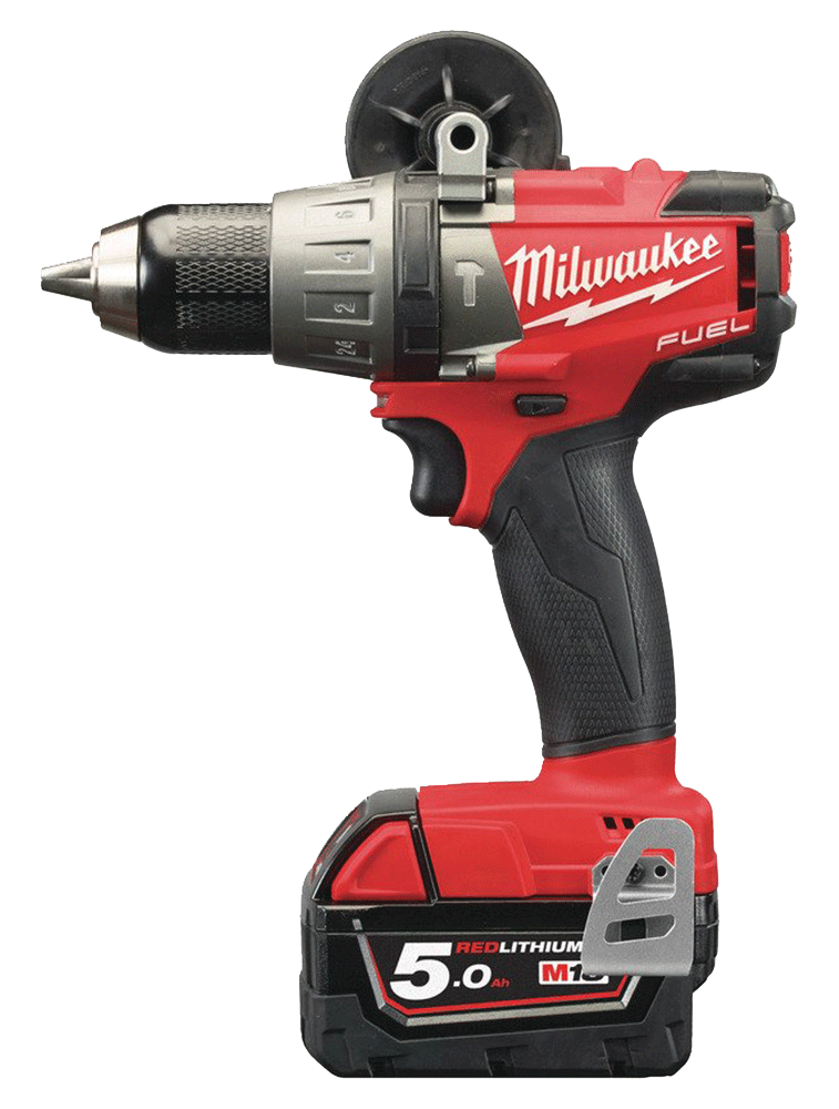 PERCEUSE VISSEUSE PERCU. FUEL 18V MILWAUKEE 5 Ah EN COFFRET