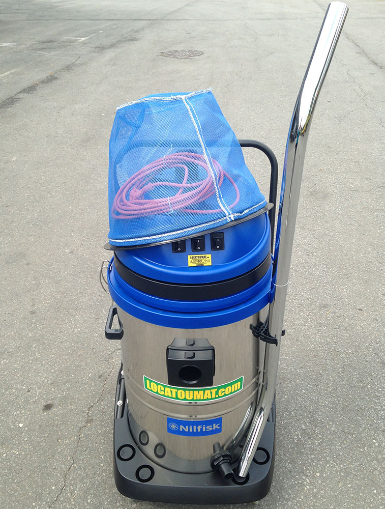 Mixed vacuum cleaner 60L 220V